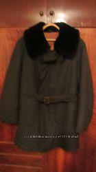 Летная куртка на натуральном меху - очень дешево