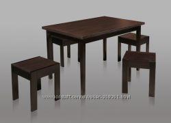 Деревянный стол Лотос 1100