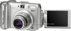 Фотоаппарат Canon PowerShot A630