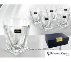 Набор стаканов для виски Bohemia Quadro