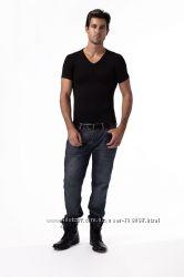 Мужская футболка для придания стройности Peachy Pink