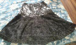 Женская юбка в черном цвете