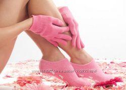 Гелевые  увлажняющие СПА носочки, перчатки