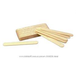 Деревянный шпатель для нанесения воска
