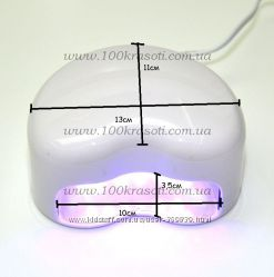 УФ лампа LED   сердце.