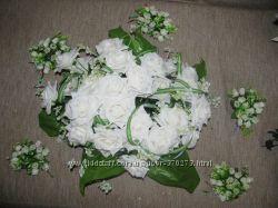 Искусственные цветы для свадьбы, праздника, дома