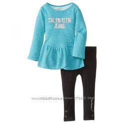 Комплекты на девочку от Calvin Klein Jeans.