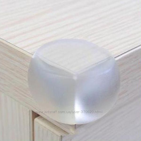Защитный силиконовый уголок - 2 шт
