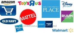 Amazon, Crazy8-18, ToysRus, Childrens-20, Carters-25, 6pm, GAP, OldNevy. ��