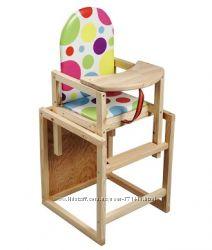Деревянный стульчик для кормления