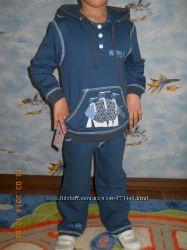 Теплый спортивный костюмчик для мальчика на осень