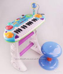 Joy Toy 7235 Пианино синтезатор с микрофоном Музыкант