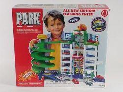 Автотрек, многоуровневый паркинг, парковка-гаражи