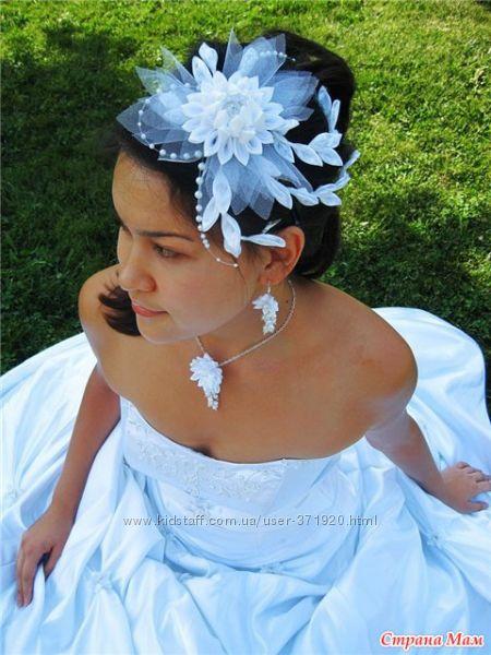 Канзаши свадебные украшения