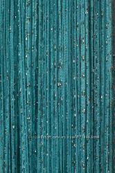 шторы нити дождик