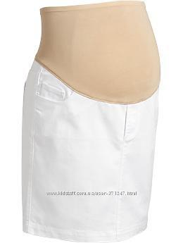 Юбка джинсовая для беременных Old Navy США размер XS-S