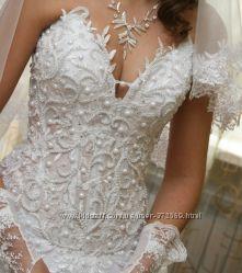 свадебное платье, перчатки. аксессуары