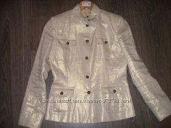 Льняной пиджак Naf Naf р. 36