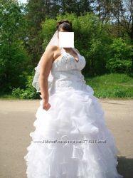 красивое платье для пышной невесты