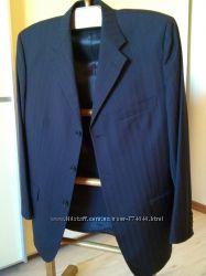 Итальянский мужской шерстяной костюм BECOME 50 размер