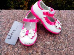 новинка туфли для девочки размер 21, 22 с кожаной стелькой с супинатором