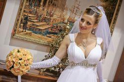 Продам свое свадебное платье в греческом стиле