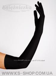 Перчатки вечерние с пальцами в ассортименте