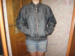 джинсовый пиджак-снизила цену