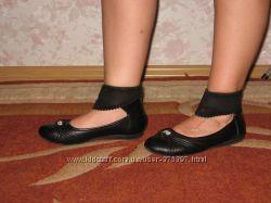 Класснючие туфли с супинатором
