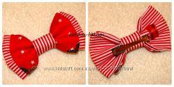 Галстук-бабочка с металлическим декором - шипами или уголками