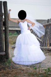 очень красивое свад. платье