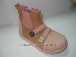 Ботинки шалунишка Blooms кожаные девочка 21-25р.