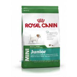 Royal Canin Mini Junior и Adult корм для щенков и взрослых миников
