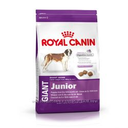 Royal Canin Giant Adult, Junior, Puppy сухой корм для собак
