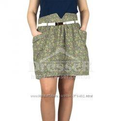 Очень классная вельветовая юбочка Страдивариус