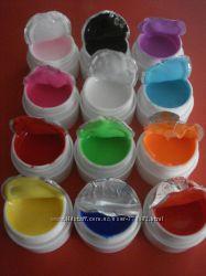 Цветные гели набор 12шт. НАЛИЧИЕ