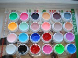 Цветные гели. Набор 24шт.