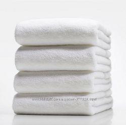 Полотенце отельное ТАС белое оптом