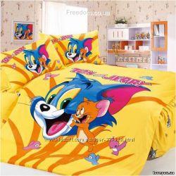 Детское постельное белье Disney сатин Love you