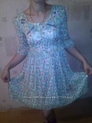 Стильное шифоновое платье Top Shop Цена снижена