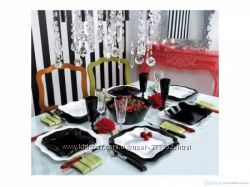 Luminarc Authentic Black&White Сервиз столовый 30пр E6199 - в ассортименте