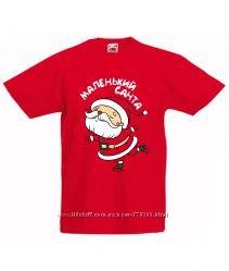 Детские новогодние футболки