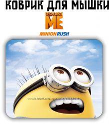 Коврик для мыши Minion Rush игра Миньон Despicable Me
