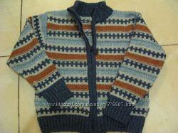 теплющий зимний свитер р. 110