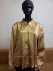 Женская рубашка Bonmarche, р. 12 большемерит на р. 52-54 новая
