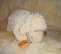 Подушка-игрушка ягненок, мягкая игрушка