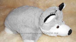 Подушка-игрушка волчонок