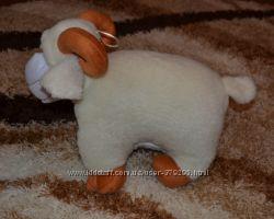 Подушка-игрушка барашек