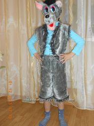 Прокат костюма Волка  на 4-7 лет