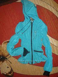 Курточка ветровка бирюзового цвета